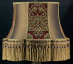 Traditional Flool Lampshade FC21
