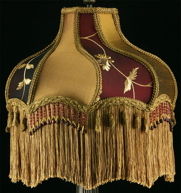 fringed lampshade TF1a