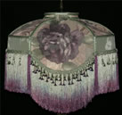 Table and Floor lampshade Plain Jane Shop Victorian Lampshades TF16