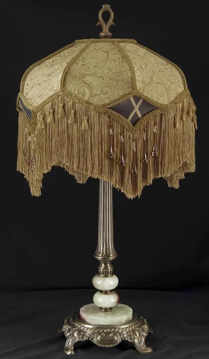 Victorian Table Lamp Shade Tf63