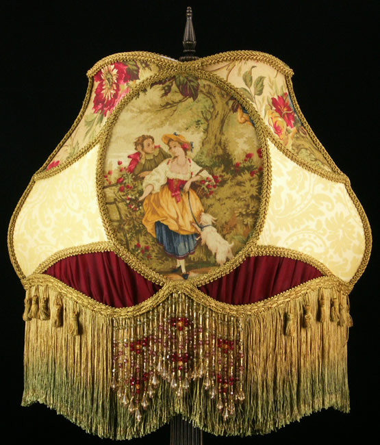 Victorian Lampshade TF13