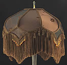 Table and Floor Lampshade Plain Jane Shop TF18 Victorian Fringed Lamp shade